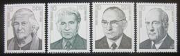 Poštovní známky DDR 1987 Osobnosti Mi# 3082-85