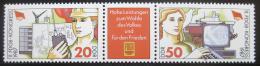 Poštovní známky DDR 1987 Kongres odborù Mi# 3086-87