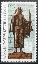 Poštovní známka DDR 1987 Memoriál váleèných obìtí Mi# 3122