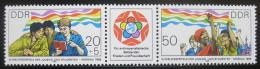 Poštovní známky DDR 1985 Festival mládeže Mi# 2959-60