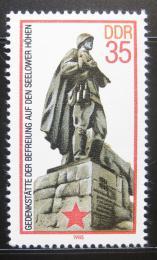 Poštovní známka DDR 1985 Váleèný memoriál Mi# 2939
