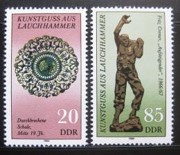 Poštovní známky DDR 1984 Umìní Mi# 2874-75