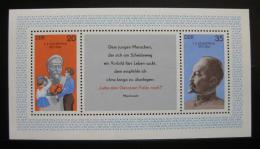 Poštovní známky DDR 1977 Tajná ruská policie Mi# Block 49