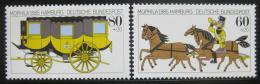 Poštovní známky Nìmecko 1985 Výstava MOPHILA Mi# 1255-56 Kat 6€