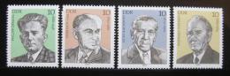 Poštovní známky DDR 1979 Osobnosti Mi# 2454-57