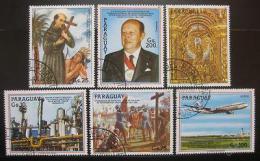 Poštovní známky Paraguay 1987 Výroèí a události Mi# 4096-4101