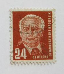 Poštovní známka DDR 1950 Prezident Wilhelm Pieck Mi# 252