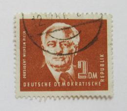 Poštovní známka DDR 1952 Prezident Wilhelm Pieck Mi# 326 Kat 13€