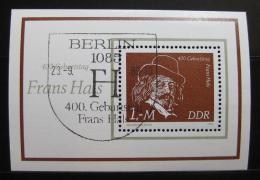 Poštovní známka DDR 1980 Frans Hals, malíø Mi# Block 61