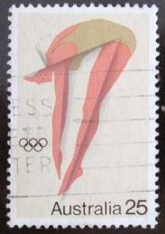 Poštovní známka Austrálie 1976 LOH Montreal, skoky do vody Mi# 608
