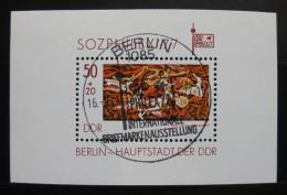 Poštovní známka DDR 1977 SOZPHILEX Mi# Block 48