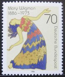 Poštovní známka Nìmecko 1986 Mary Wigman, taneènice Mi# 1301