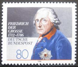 Poštovní známka Nìmecko 1986 Král Frederick Mi# 1292 Kat 3.40€