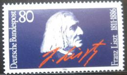 Poštovní známka Nìmecko 1986 Franz Liszt Mi# 1285