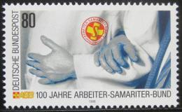 Poštovní známka Nìmecko 1988 Záchrannná služba Mi# 1394