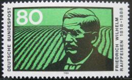 Poštovní známka Nìmecko 1988 Friedrich Reiffeisen Mi# 1358