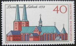 Poštovní známka Nìmecko 1973 Katedrála v Lubecku Mi# 779