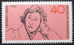 Poštovní známka Nìmecko 1972 Heinrich Heine Mi# 750