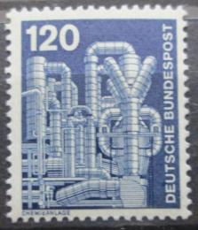 Poštovní známka Nìmecko 1975 Chemická továrna Mi# 855