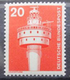 Poštovní známka Nìmecko 1975 Starý maják Mi# 848