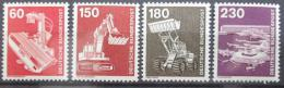 Poštovní známky Nìmecko 1978 Prùmysl, roèník Mi# 990-94 Kat 11€
