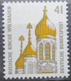 Poštovní známka Nìmecko 1993 Ruský kostel Mi# 1687