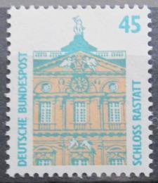 Poštovní známka Nìmecko 1990 Zámek Rastatt Mi# 1468