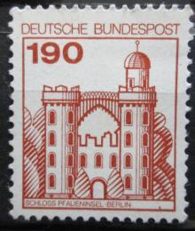 Poštovní známka Nìmecko 1977 Hrad Pfaueninsel Mi# 919