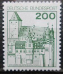 Poštovní známka Nìmecko 1977 Hrad Burresheim Mi# 920