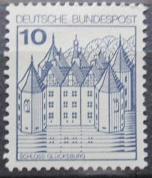 Poštovní známka Nìmecko 1977 Zámek Glucksburg Mi# 913