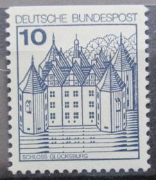 Poštovní známka Nìmecko 1977 Zámek Glucksburg Mi# 913 C