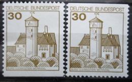Poštovní známky Nìmecko 1977 Hrad Ludwigstein Mi# 914 C-D