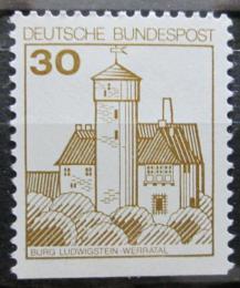 Poštovní známka Nìmecko 1977 Hrad Ludwigstein Mi# 914 D