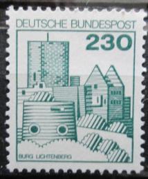 Poštovní známka Nìmecko 1978 Hrad Lichtenberg Mi# 999 Kat 4€
