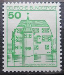 Poštovní známka Nìmecko 1980 Zámek Inzlingen Mi# 1038
