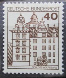 Poštovní známka Nìmecko 1980 Zámek Wolfsburg Mi# 1037