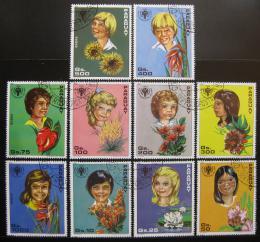 Poštovní známky Paraguay 1981 Mezinárodní rok dìtí Mi# 3373-82