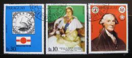 Poštovní známky Paraguay 1981 Výroèí a události Mi# 3410-12