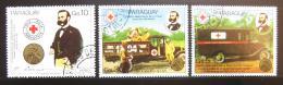 Poštovní známky Paraguay 1985 Èervený køíž Mi# 3895-97