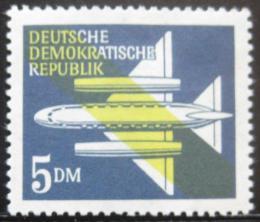 Poštovní známka DDR 1957 Letadlo Mi# 615 Kat 5€