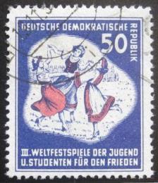 Poštovní známka DDR 1951 Tancující dívky Mi# 292 Kat 15€