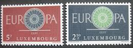 Poštovní známky Lucembursko 1960 Evropa CEPT Mi# 629-30