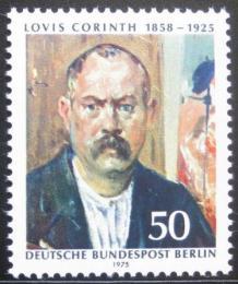 Poštovní známka Západní Berlín 1975 Lovis Corinth, malíø Mi# 509