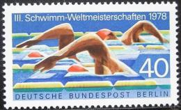 Poštovní známka Západní Berlín 1978 MS v plavání Mi# 571