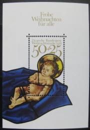 Poštovní známka Nìmecko 1978 Vánoce Mi# Block 17