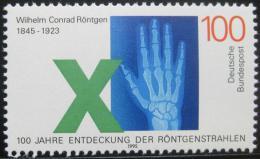 Poštovní známka Nìmecko 1995 Rentgen ruky Mi# 1784