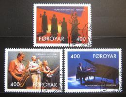 Poštovní známky Faerské ostrovy 1993 Umìlci Mi# 243-45