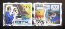 Poštovní známky Faerské ostrovy 1994 Škola navigace Mi# 264-65