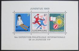 Poštovní známky Lucembursko 1969 Výstava JUVENTUS Mi# Block 8