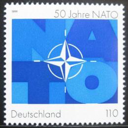 Poštovní známka Nìmecko 1999 NATO, 50. výroèí Mi# 2039